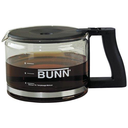 Bunn - Carafe Glass With Black Handle & Lid
