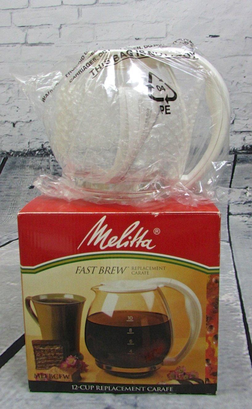Melitta Fast Brew Replacement Carafe MEFBCFW