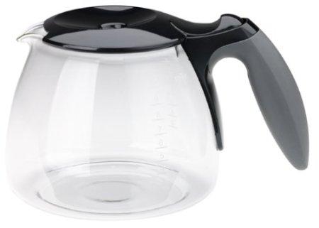 Braun - Braun KFK500-BK AromaDeluxe 10-Cup Replacement Carafe, Black