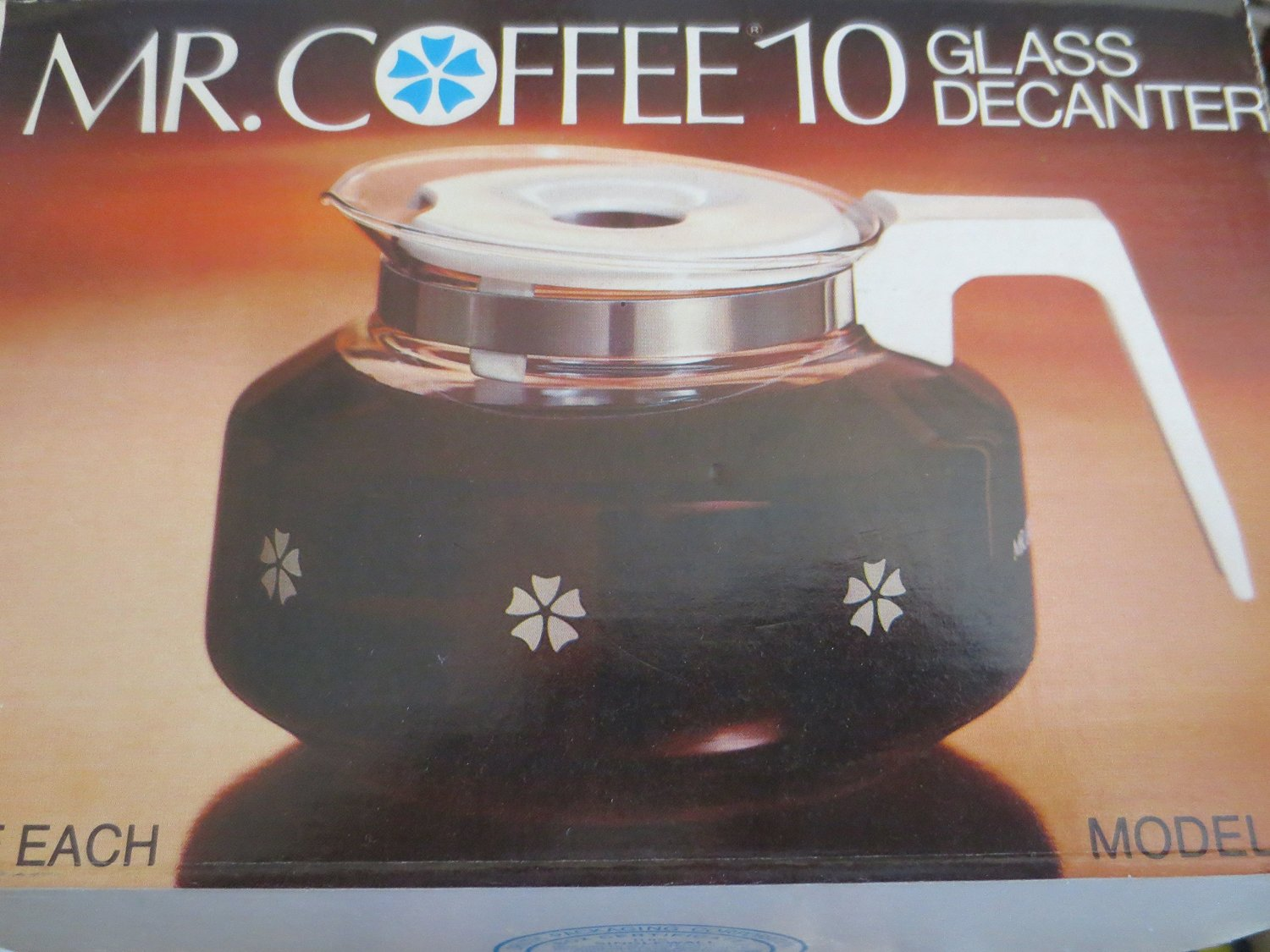 Mr Coffee - 10 Cup Glass Decanter Carafe Model D-7