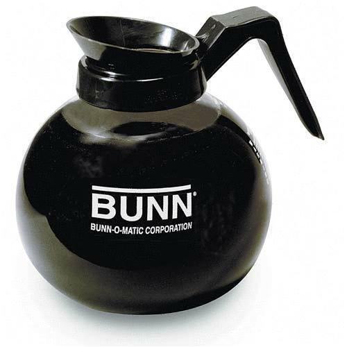 Bunn - BUN6078 - 12 Cup Standard Decanter, Clear/Black