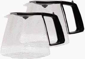 Braun - Braun KFK500B-2PK Coffeemaker 10 Cup Glass Carafe, Black, 2-Pack