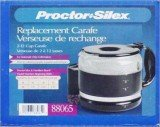 proctor silex coffee maker replacement carafe